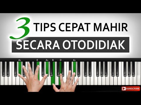 3 Tips Cara Cepat Mahir Belajar Piano Keyboard | Belajar Piano Keyboard