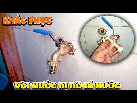 Sửa vòi nước bị rò rỉ nước mới nhất dễ dàng ( Water tap Fix )   Văn Hóng