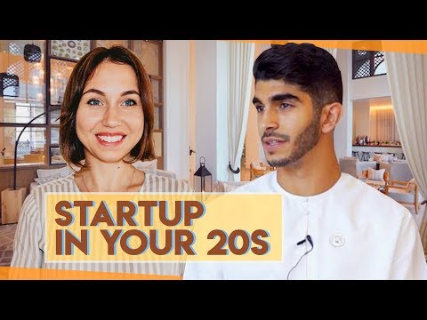 How to launch a startup in your 20s. Business in Dubai.