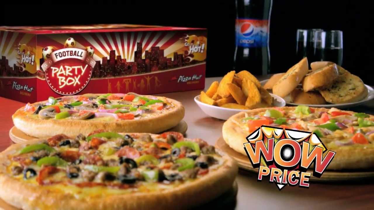 Pizza Hut Party Box - YouTube