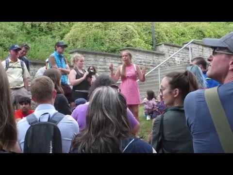 Tallinn Estonia Helen the best Tour Guide about Tallinn people