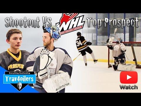 Shootout Challenge vs Top WHL Prospect | Looser Spit Shines Winners Skates