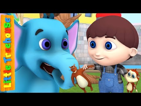 Zoo Song for Children | Nursery Rhymes for Babies by Little Treehouse