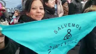 Marcha Provida en Cordoba, Salvemos las dos Vidas