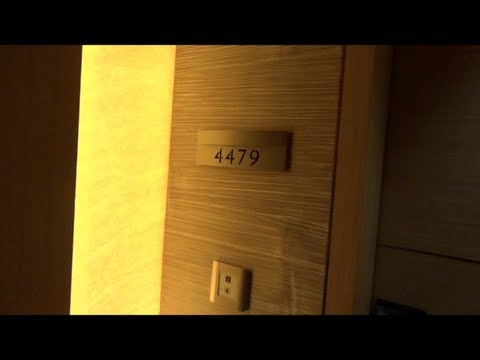 Room 4479 tour, Tower 1 @ Marina Bay Sands, Singapore