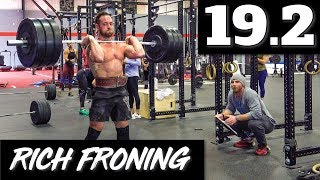 Rich Froning 19.2 //  Open Workout // FT.  Tasia Percevecz & Chyna Cho