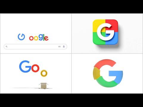 Google Logo Intro - Compilation