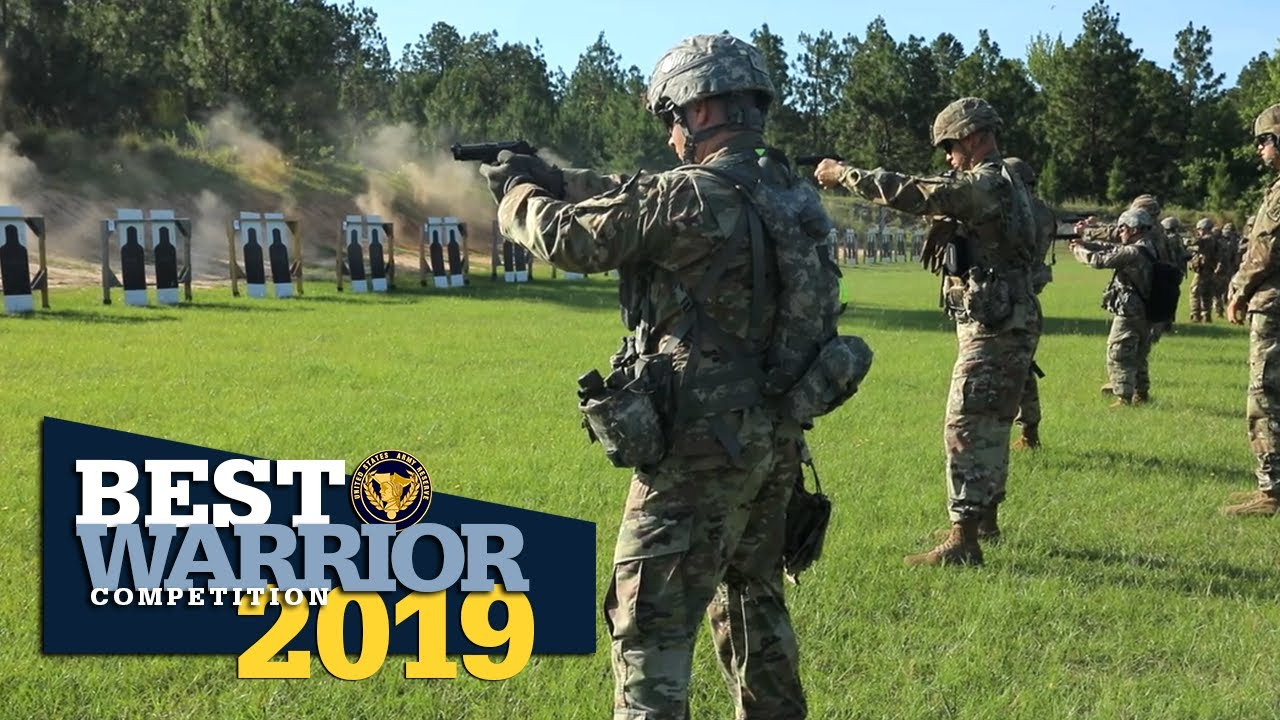 The 2019 Army Reserve Best Warrior Competition is in full swing!