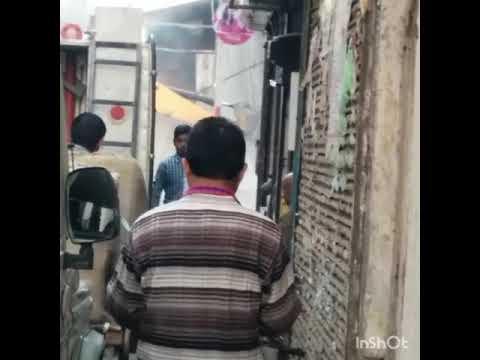 Moga # Breaking illegal shops