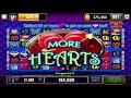 190X bet amazing win on More Hearts! Cashman Slots app iPhone 7 Plus