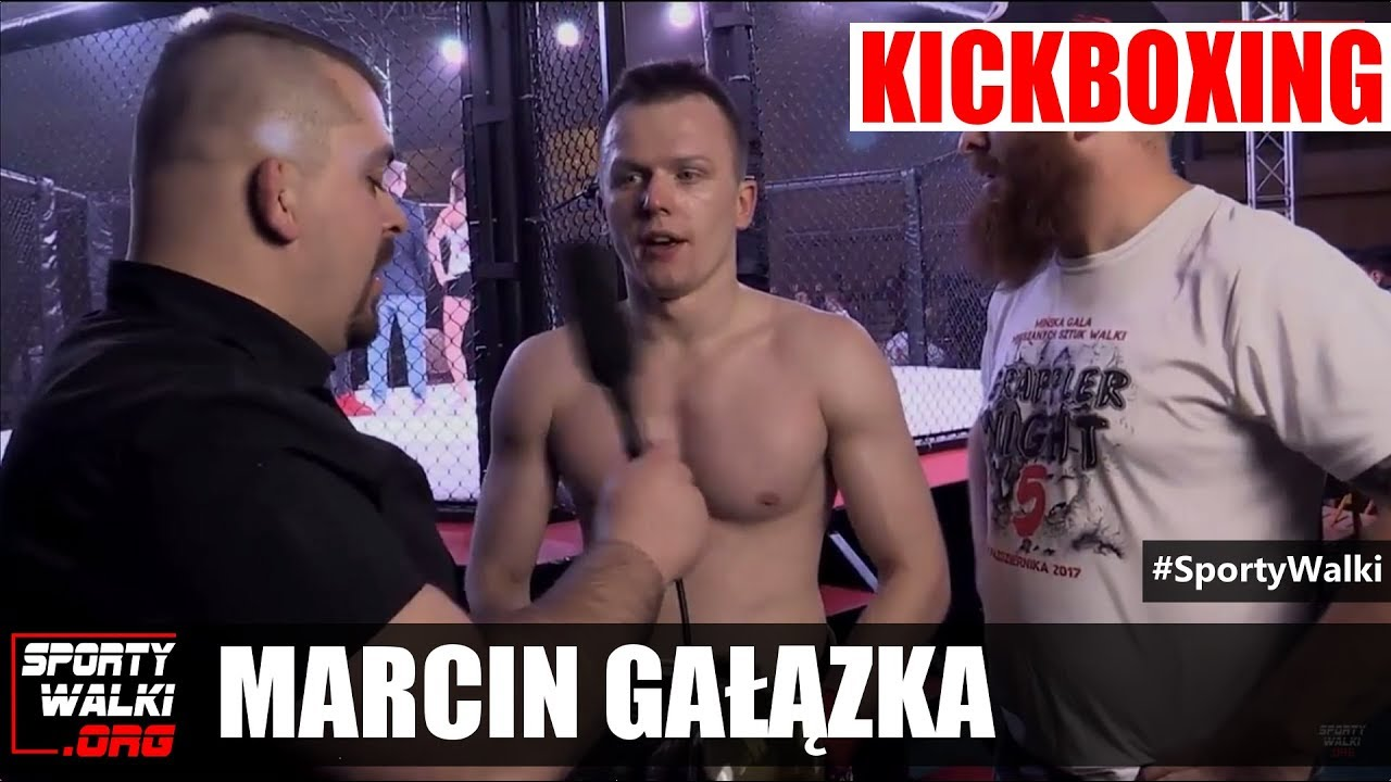 GN 5: Marcin Gałązka po zdobyciu pasa