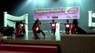 Sandakan Bollywood Dancers_where have u been,Coke bottle,Live it up & Dhoom Machale