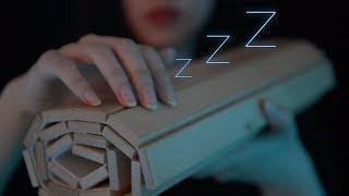 ASMR Calming Wood Triggers for Sleep (No Talking)