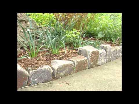 Garden Ideas Stone garden edging ideas