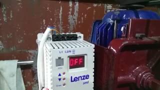 Частотний перетворювач Lenze 0,75 кВт, вх. 220В, вих. 3ф. Налаштування і підключення для сверлилки.