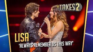 Finale It Takes 2: Lisa Michels & Waylon zingen Always Remember Us This Way
