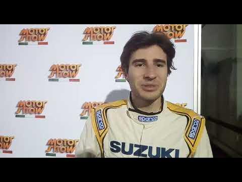 Andrea Dalmazzini vincitore Suzuki Rally Trophy Motor Show