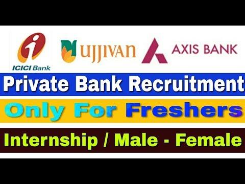 Private Bank Recruitment 2019 II Internship Post II Apply Online II Learn Technical
