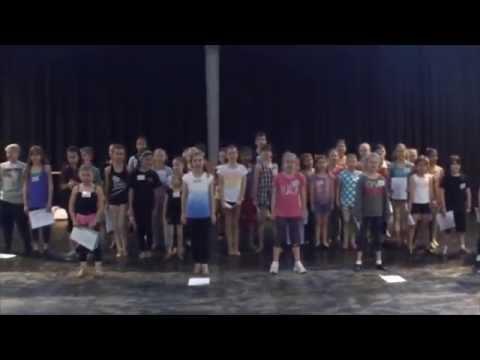 Children's Audition Preparation Workshop Focussing On Matilda 2014 Promo DVD