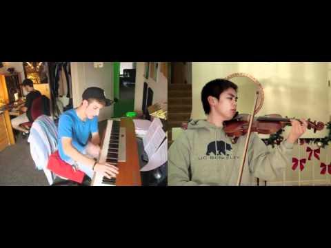 Elfen Lied - Lilium (violin, piano) - FT. Josh Chiu