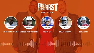 First Things First Audio Podcast(8.14.19) Cris Carter, Nick Wright, Jenna Wolfe | FIRST THINGS FIRST