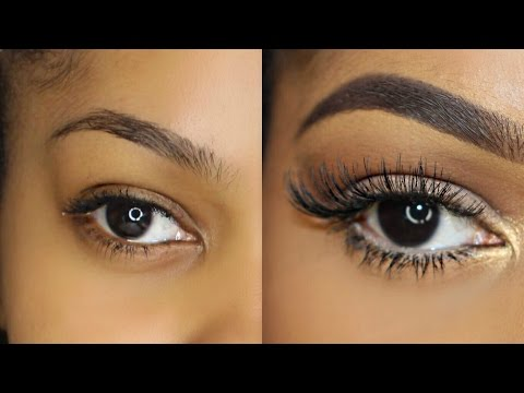 How To: Easily Apply Lashes for Beginners! | Dana Alexia