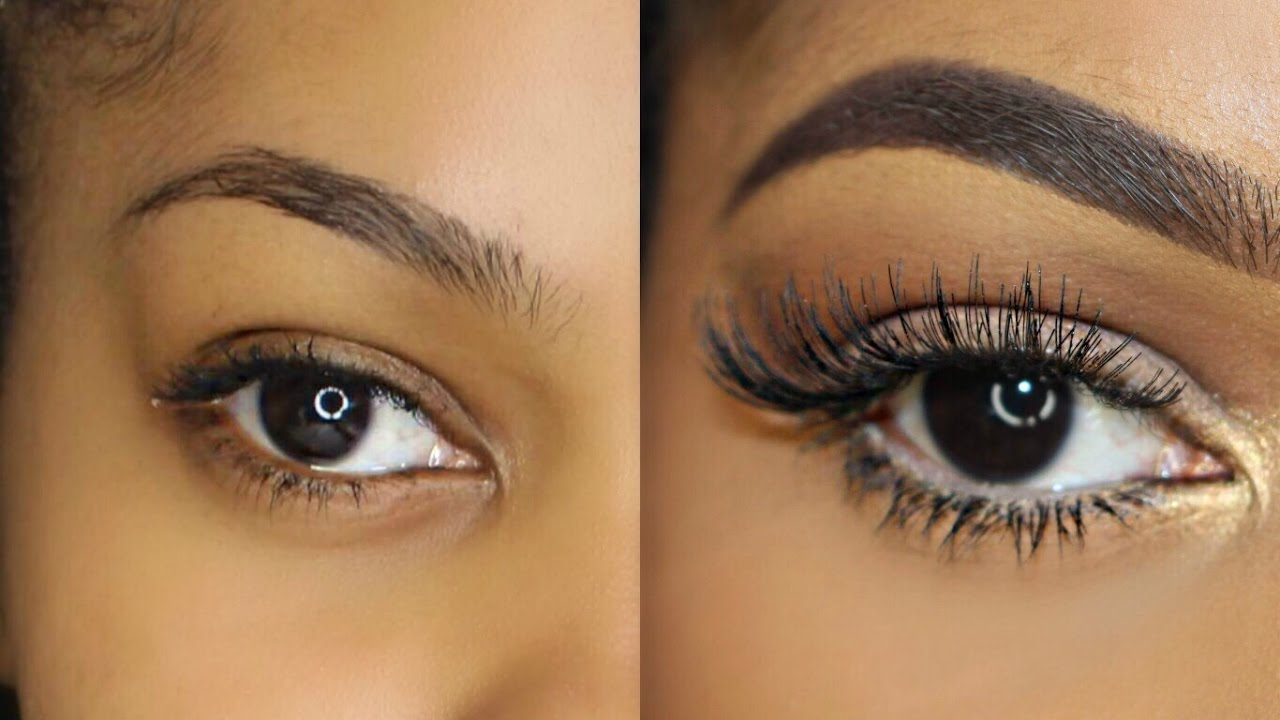 ba657ad290f How To: Easily Apply Lashes for Beginners! | Dana Alexia - YouTube