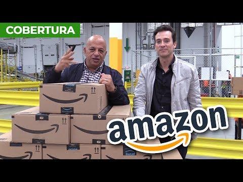 Desde El Nuevo Centro De Distribución De Amazon En México