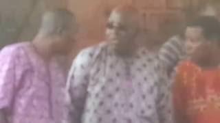 Never Seen Behind The Scene Video Of Femi Adebayo & Oga Bello (Watch)