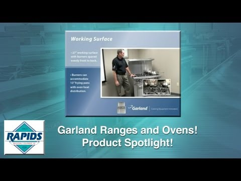 Garland Ranges And Ovens Spotlight (Review) From RapidsWholesale.com