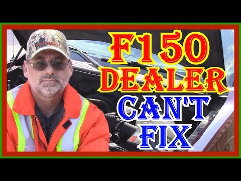 F150 STALLING AT STOPS  - DEALER CAN'T FIND FIX - PART ONE