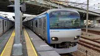 相鉄10000系(10703F)各駅停車横浜行き 相鉄線西横浜発車