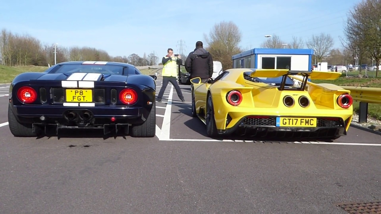 New Ford Gt V Old Ford Gt