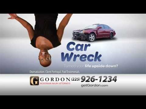 Alexandria Car Accident Lawyer | Upside Down | Louisiana Rear-End Car Wreck Attorney