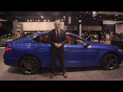 2019 Genesis G70 - Montreal AutoShow - 2.0 Sport Model | Genesis Motors Canada