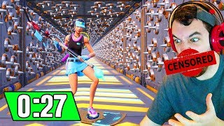 Cizzorz Deathrun in 27 SECONDS!!! (Rage Quit Speedrun)
