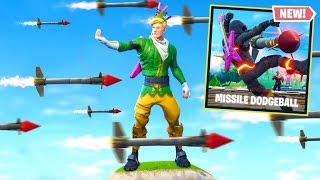 GUIDED MISSILE DODGEBALL *NEW* Custom Gamemode In Fortnite Battle Royale