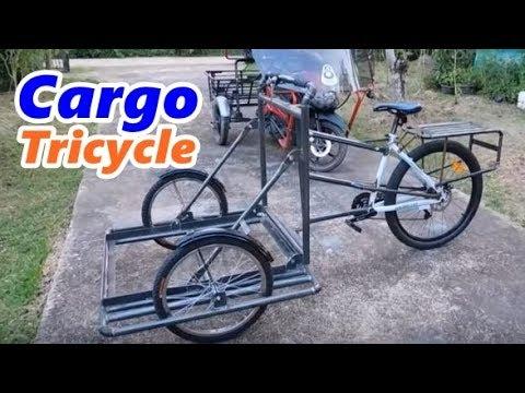 Cargo Tricycle จักรยาน3ล้อ จักยานขายไอติม