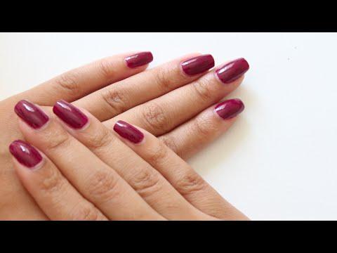 Como faço as unhas (sem tirar cutícula)   Maraisa Fidelis