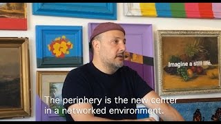 Stefan Simchowitz at The Museum of Fake Art [Part 1 of 2]