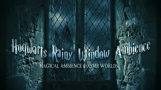Hogwarts Rainy Window Ambience Harry Potter Castle Asmr Animated Audio Relaxing Study Sleep