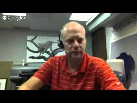 Google+ Hangout with Andy Biggs