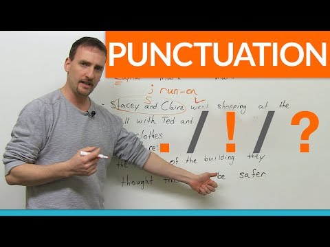 Learn Punctuation Period Exclamation Mark Question Mark