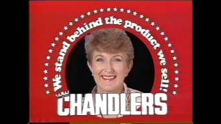 Brisbane TV 1985 - Chandlers with Melody Iliffe (Microwave Sale)
