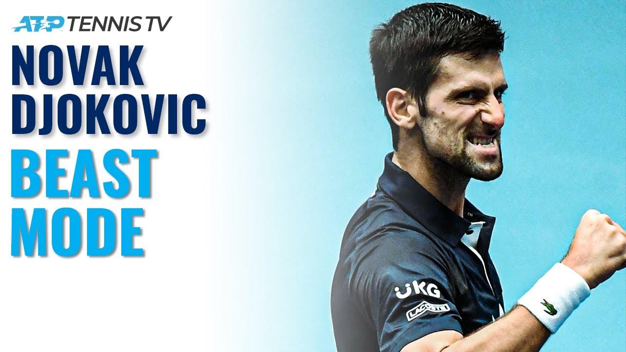 Novak Djokovic BEAST MODE vs Coric | Vienna 2020 Highlights