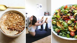 What I Eat In a Day For a Healthy Body (Vegan)
