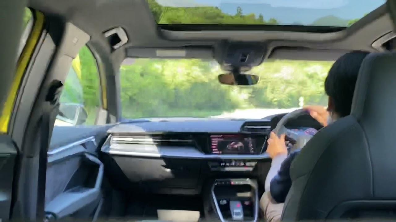 新型アウディS3 2リッターターボ4WDのニューカマー インプレッションby 中谷明彦