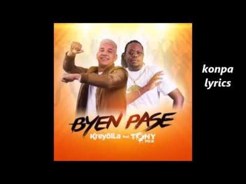 Bien pase Kreyol la ft Tonymix lyrics (paroles)