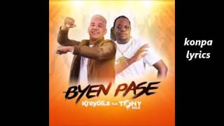 Bien pase Kreyol la ft Tonymix lyrics (paroles)