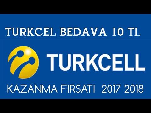 TURKCELL BEDAVA 20 TL KAZANMA FIRSATI  2018 2019